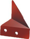 Cuchilla 03060116D y 03060116G para arado de vertedera 1468 Naud de Bellota Agrisolutions