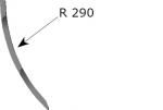 Punta de desrastrojo con ángulo de ataque más agresivo
