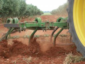 Aperos agrícolas que sustituyen el arado de vertedera para sembrar colza