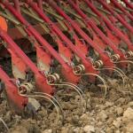 Sembradoras de discos son más adecuados para terrenos pedregosos que las sembradoras de botas o rejas