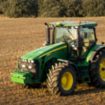 Reduced emissions of greenhouse gases in tractors
